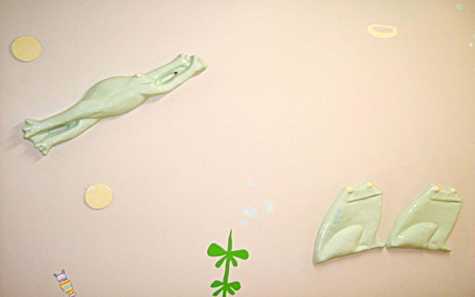 ホスピタルアート 大阪府立母子保健総合医療センター 壁画