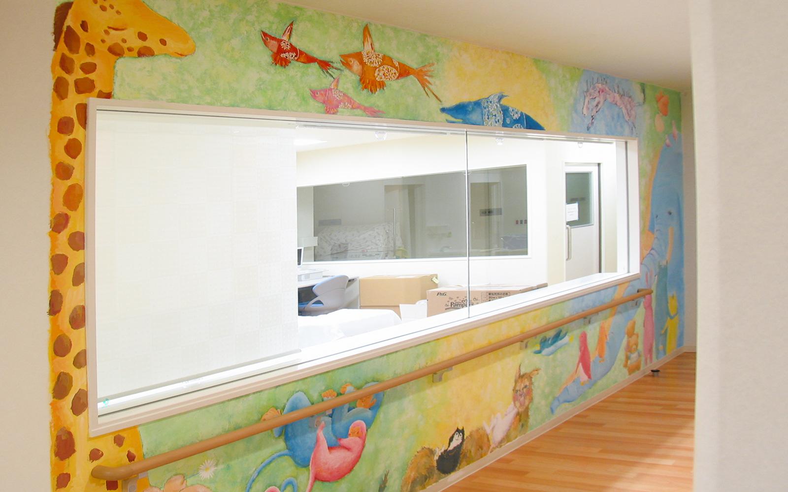 ホスピタルアート 府中病院 壁画