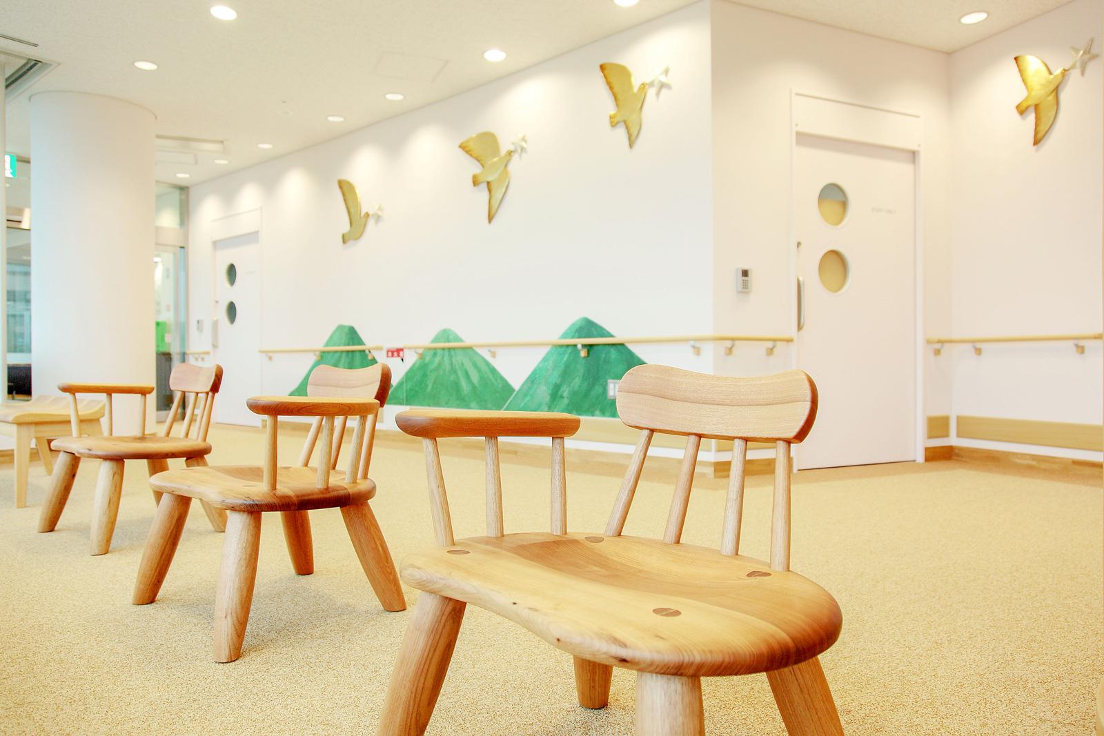 ホスピタルアート 兵庫県立光風病院 児童思春期センター 「光の森」