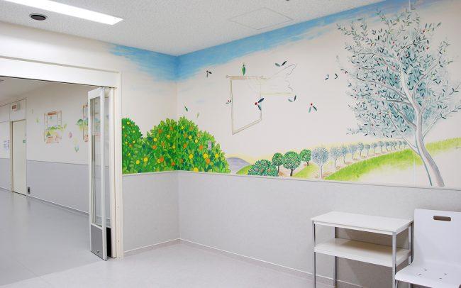 ホスピタルアート 四国こどもとおとなの医療センター「手術室の窓」