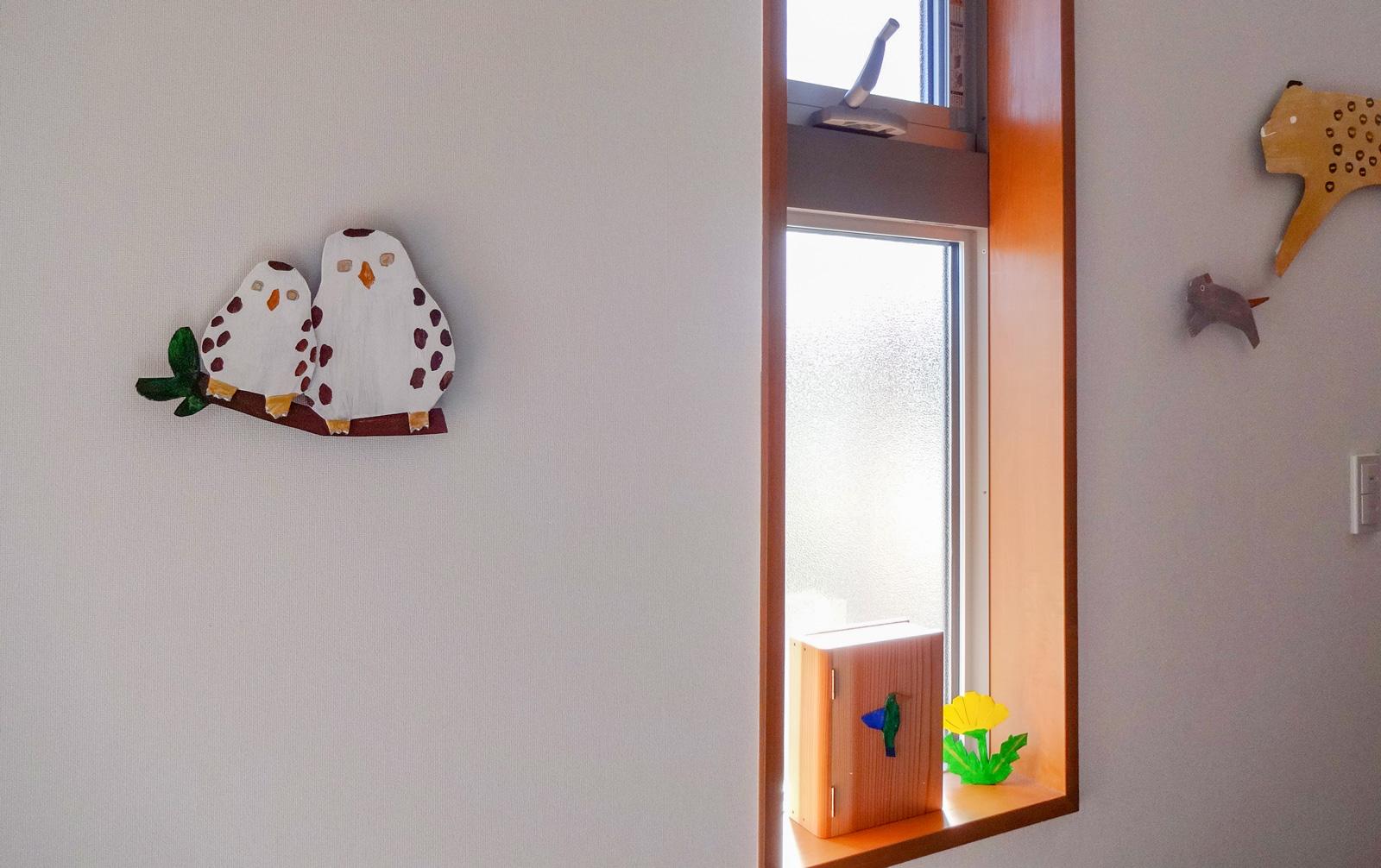 ホスピタルアート 赤ちゃんとこどものクリニックBe 「ハチドリのひとしずく-その後の物語」
