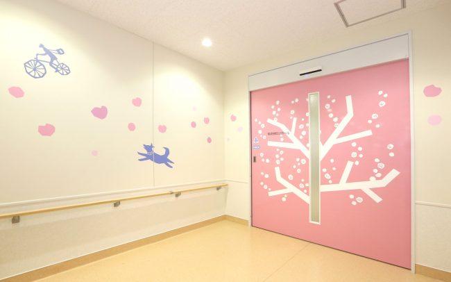 ホスピタルアート 大阪病院 小児科壁画「季節のこころ」