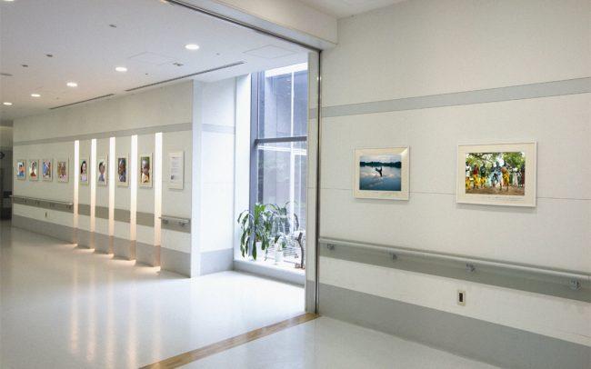 ホスピタルアート 関西労災病院 写真展