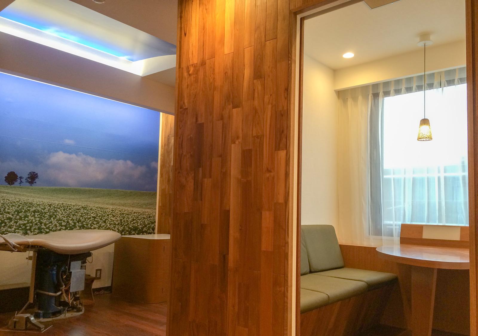 ホスピタルアート 株式会社モリタ 歯科診療スペース