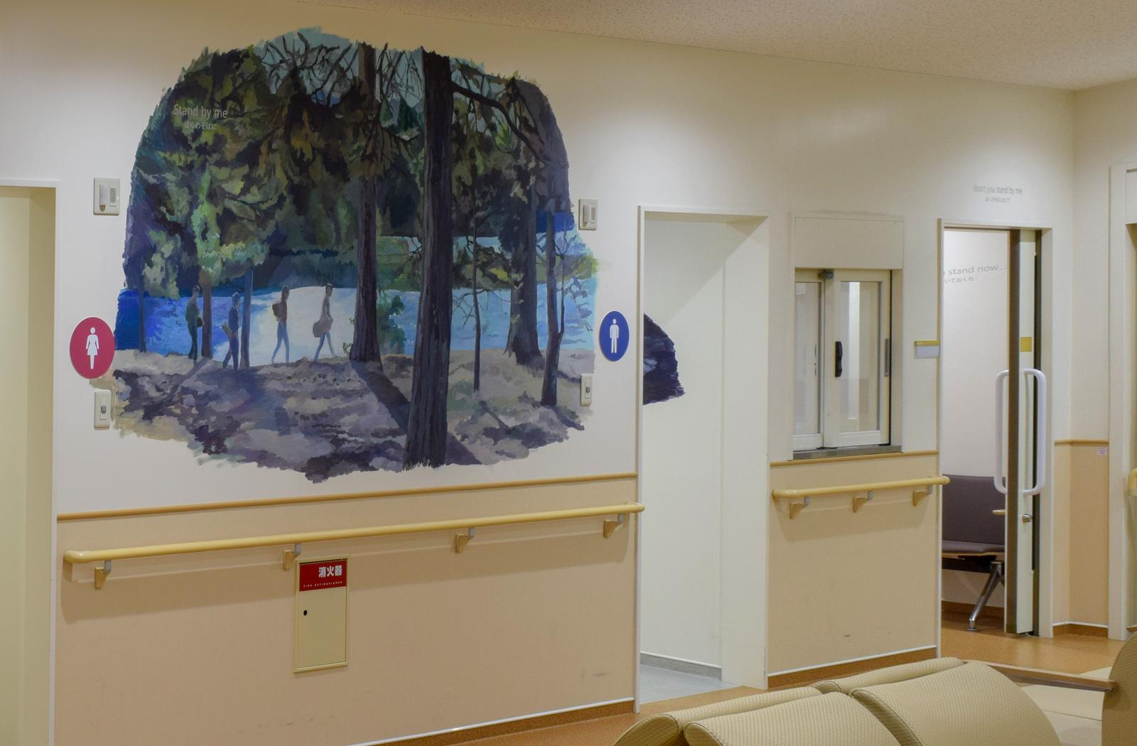 ホスピタルアート 四国こどもとおとなの医療センター 検査科に必要なアートとは?